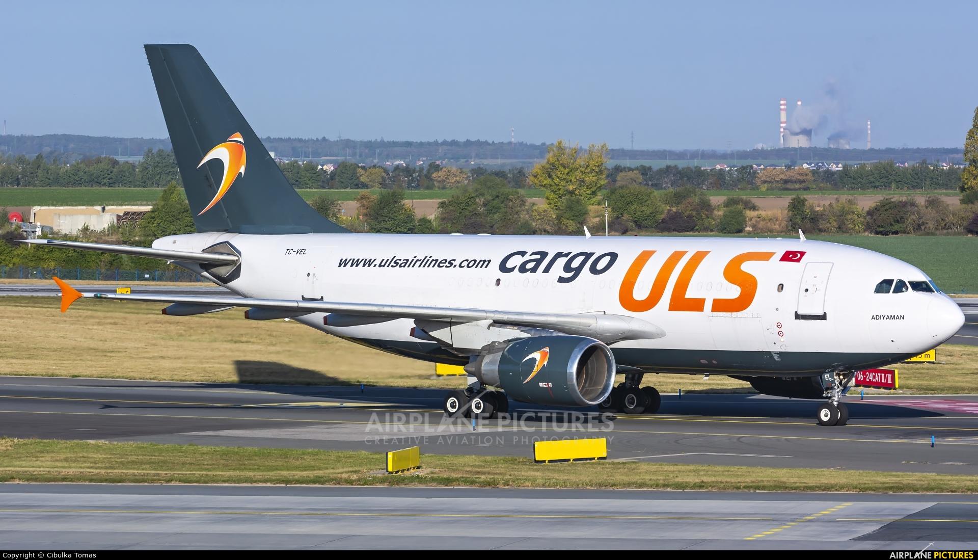 ULS Cargo TC-VEL aircraft at Prague - Václav Havel