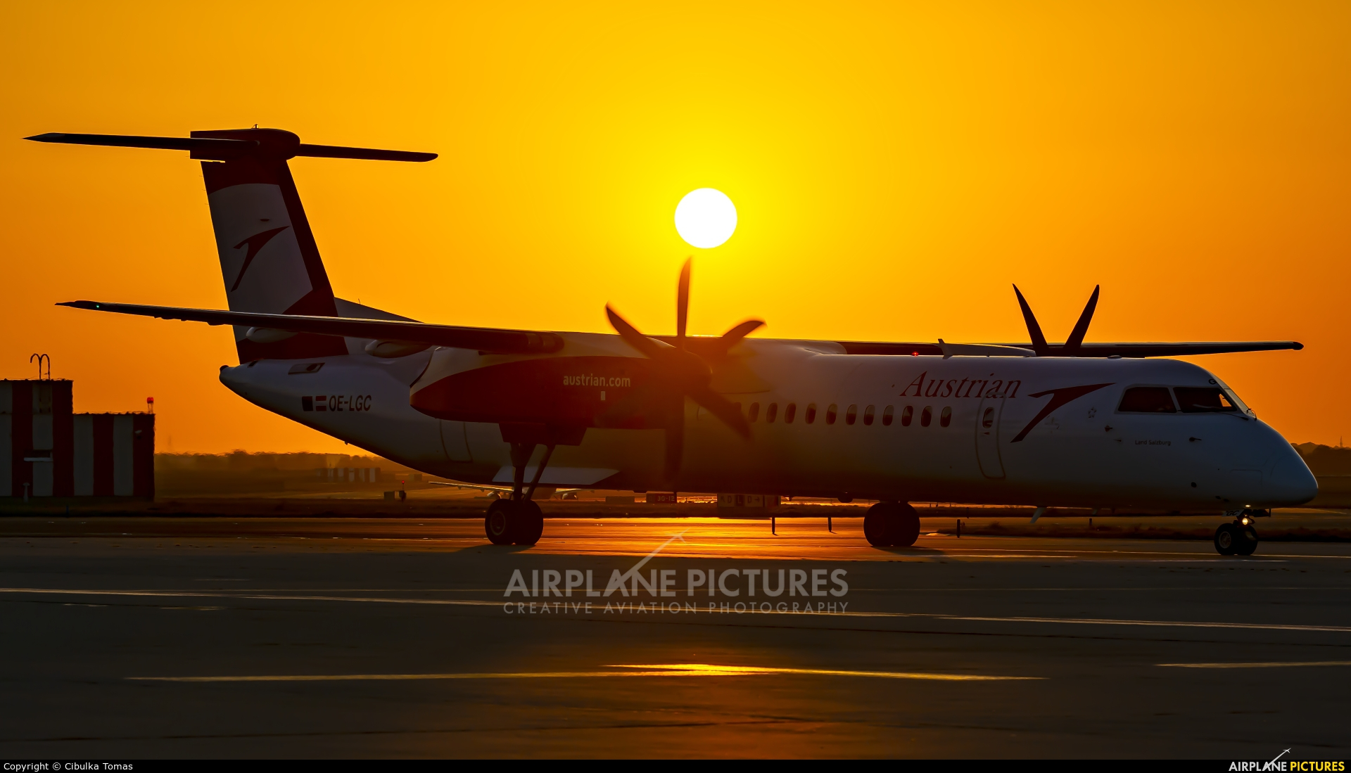 Austrian Airlines/Arrows/Tyrolean OE-LGC aircraft at Prague - Václav Havel