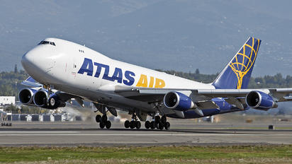 N485MC - Atlas Air Boeing 747-400F, ERF