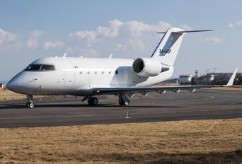 XA-UZF - Private Bombardier Challenger 600