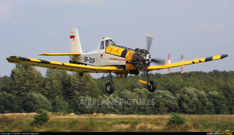 ZUA Mielec SP-ZUP aircraft at Katowice Muchowiec