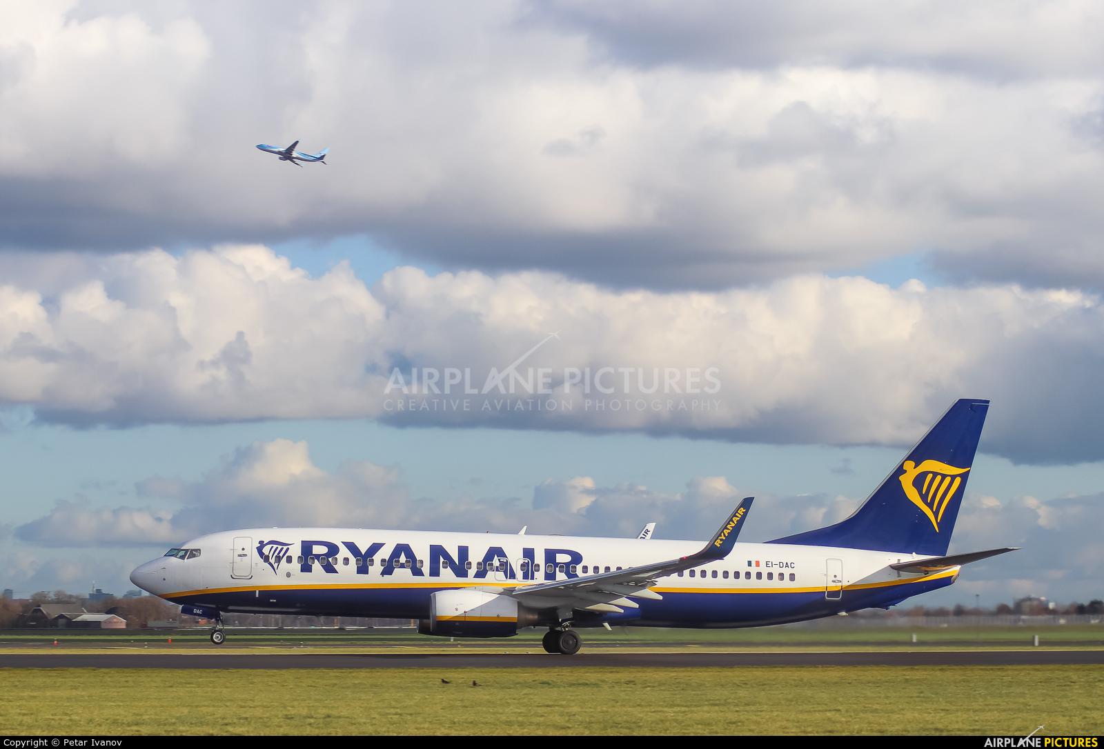 Ryanair EI-DAC aircraft at Amsterdam - Schiphol