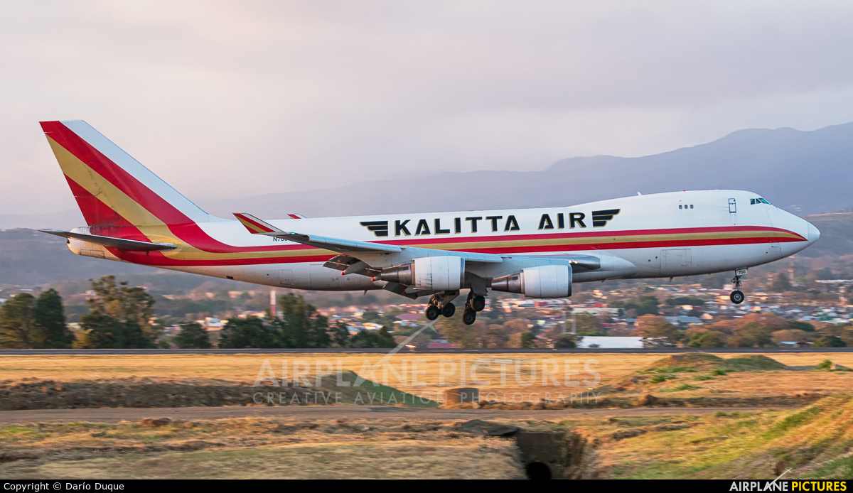 Kalitta Air N700CK aircraft at San Jose - Juan Santamaría Intl