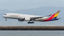 HL8078 - Asiana Airlines Airbus A350-900 aircraft