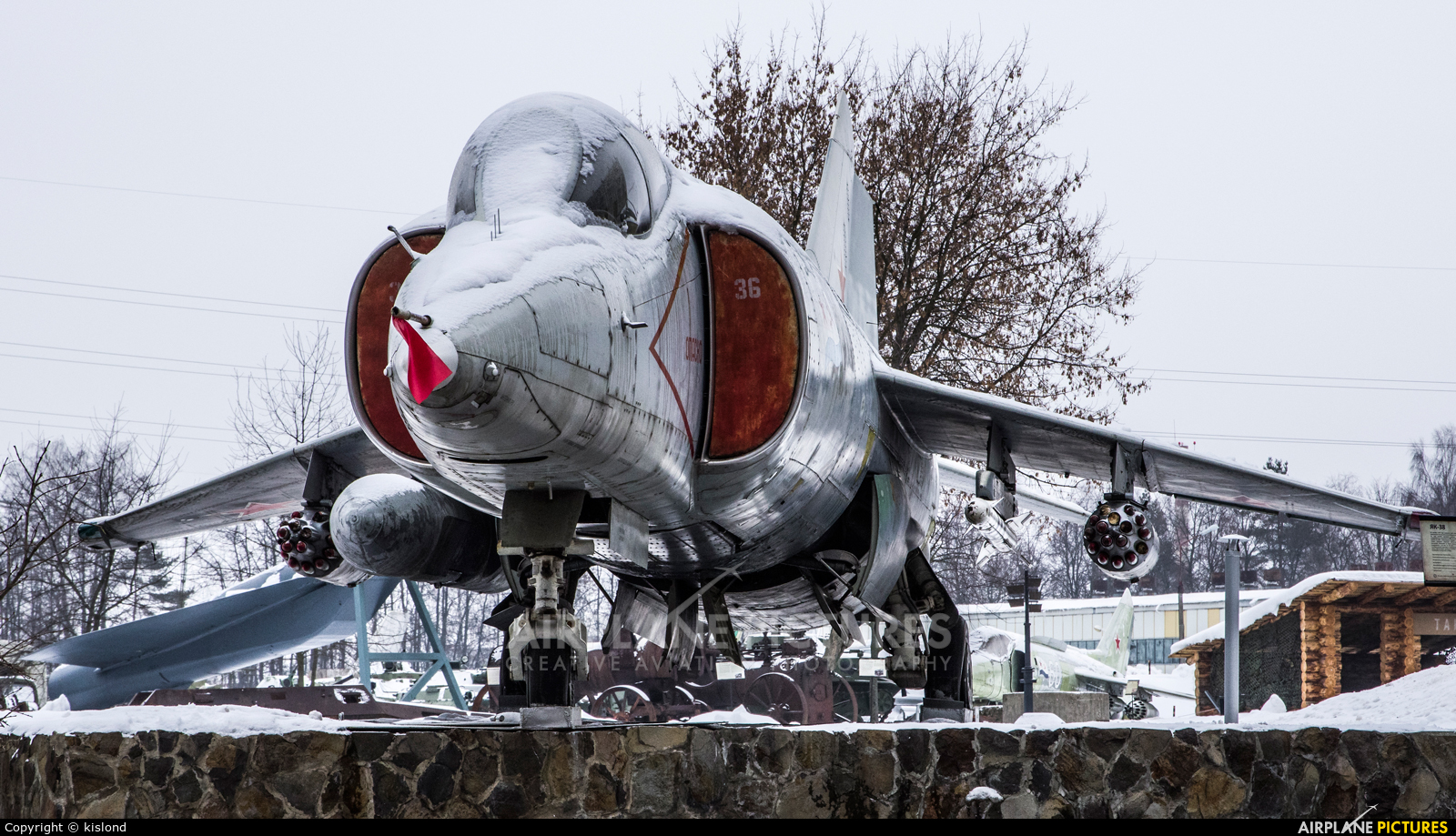 Russia - Air Force 36 aircraft at Off Airport - Russia