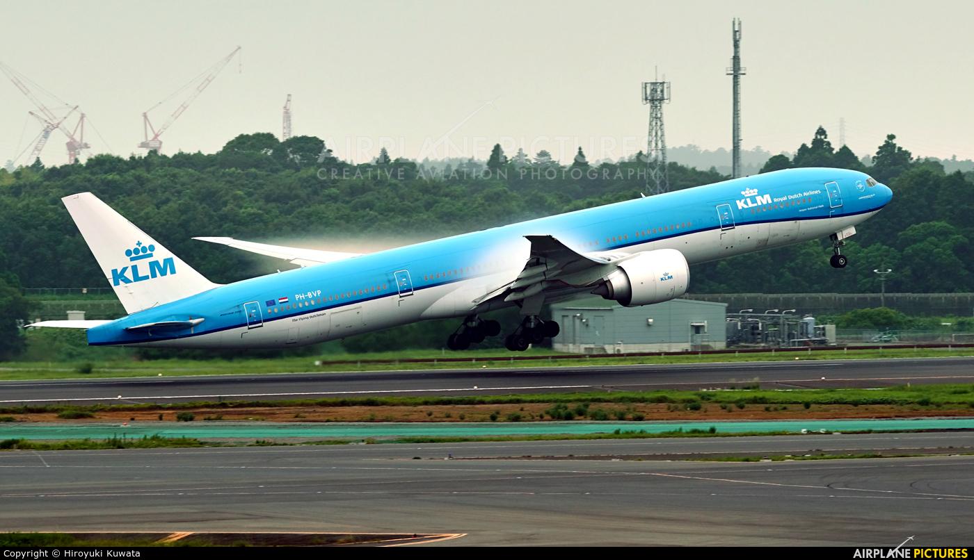 KLM PH-BVP aircraft at Tokyo - Narita Intl