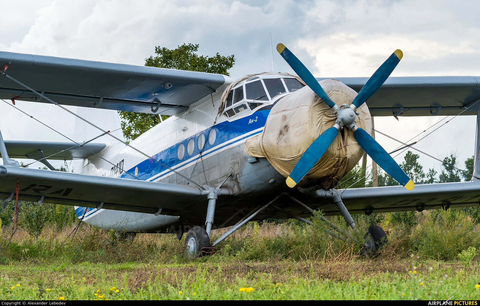 Private RA-01410 aircraft at Off Airport - Russia