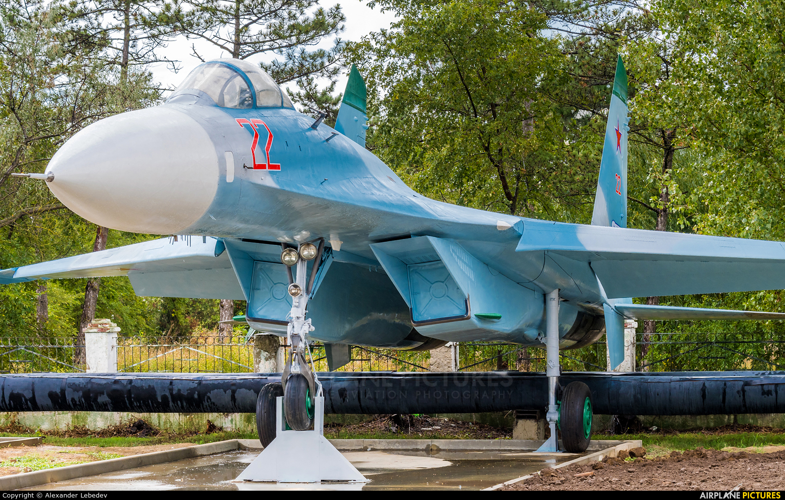 Russia - Air Force 22 aircraft at Off Airport - Russia