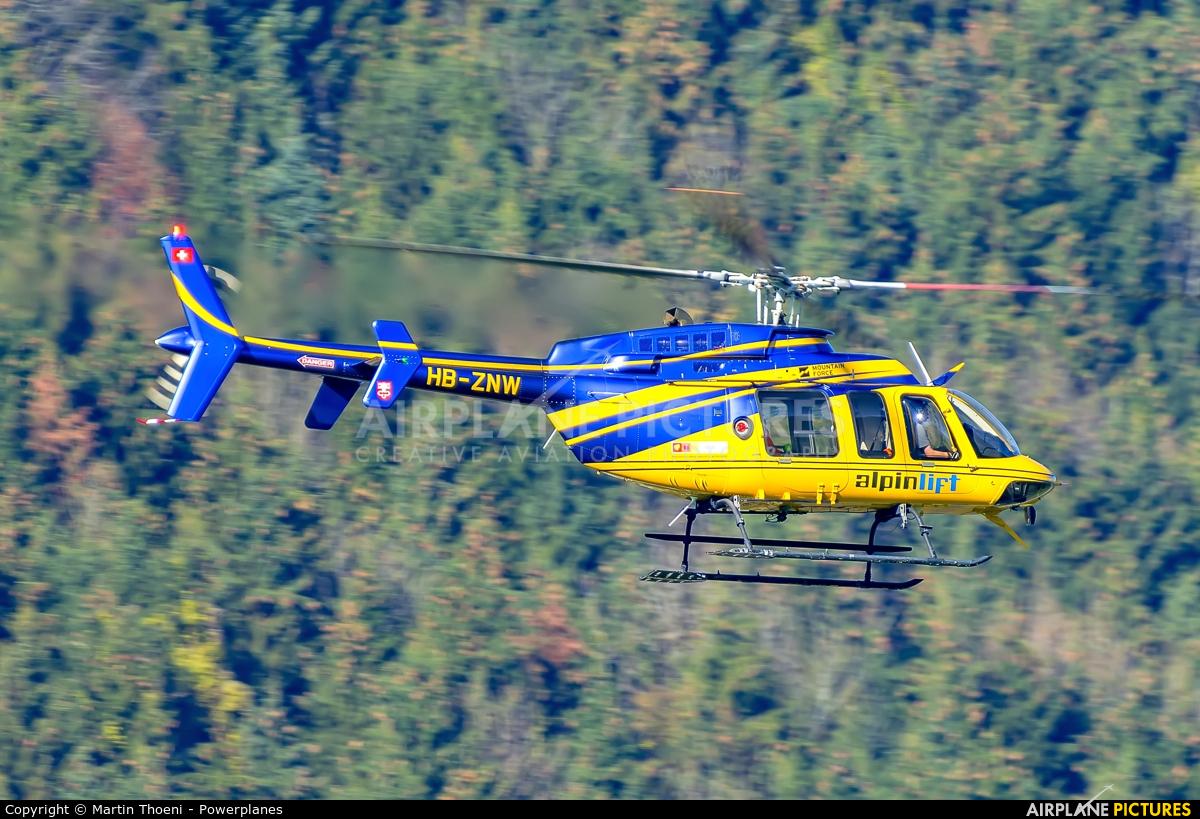 Alpinlift HB-ZNW aircraft at Buochs
