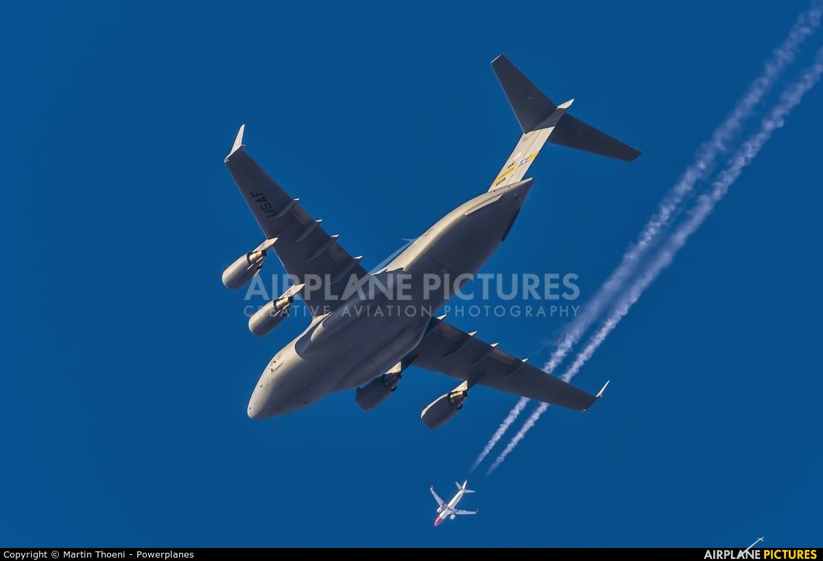 USA - Air Force 08-8198 aircraft at Zurich