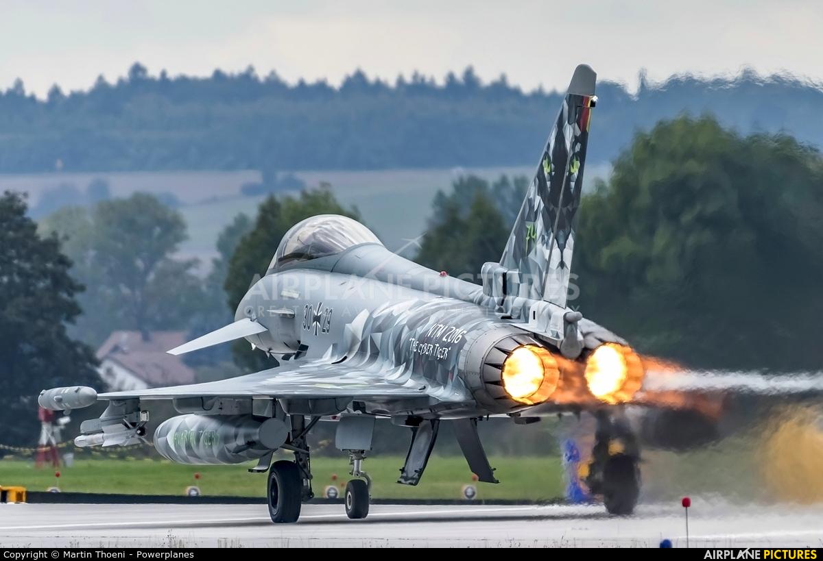 Germany - Air Force 30+29 aircraft at Neuburg - Zell