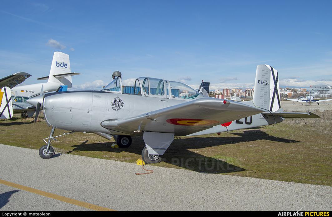 Fundación Infante de Orleans - FIO EC-GMD aircraft at Madrid - Cuatro Vientos