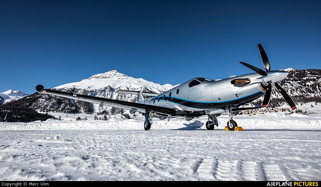 Private HB-FXC aircraft at Samedan - Engadin