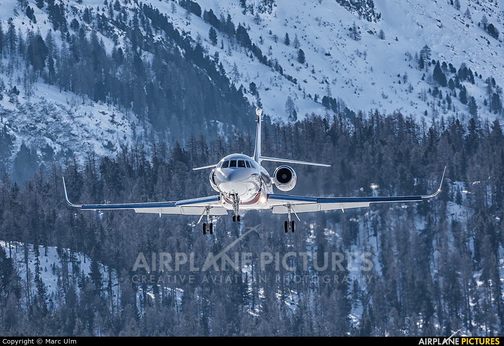 TAG Aviation 9H-JSB aircraft at Samedan - Engadin