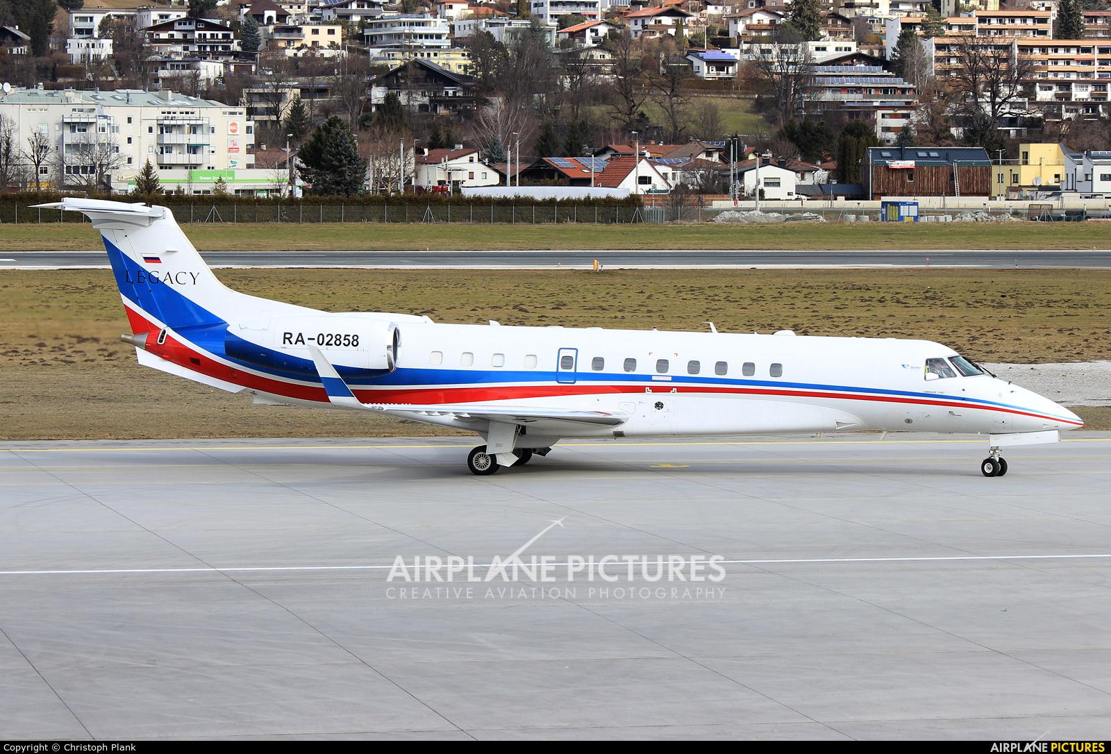 Jet Air Group (Russia) RA-02858 aircraft at Innsbruck