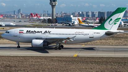 EP-MNV - Mahan Air Airbus A310