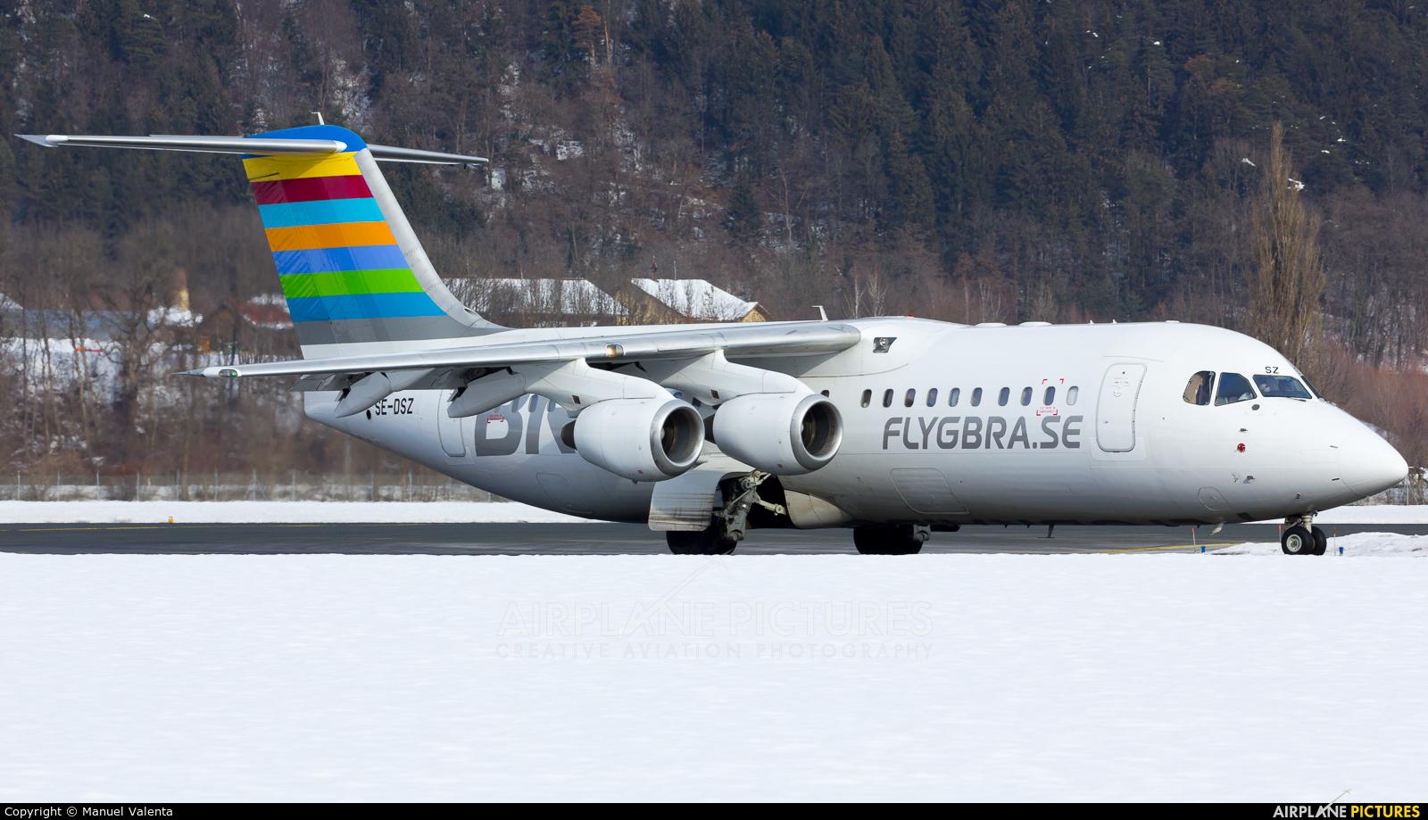 Braathens Regional SE-DSZ aircraft at Innsbruck