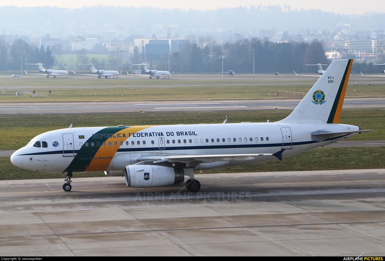 Brazil - Air Force 2101 aircraft at Zurich