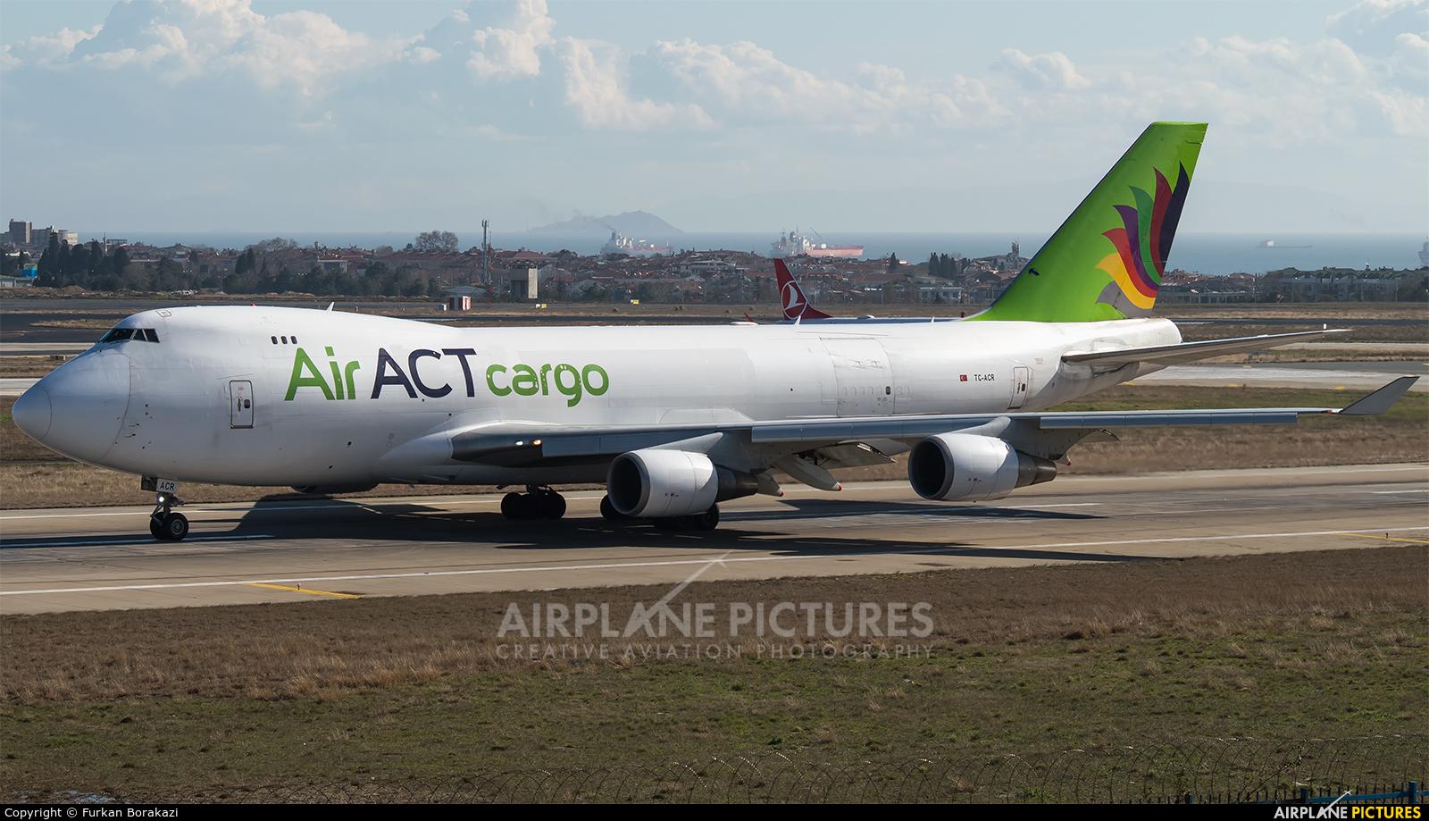 ACT Cargo TC-ACR aircraft at Istanbul - Ataturk