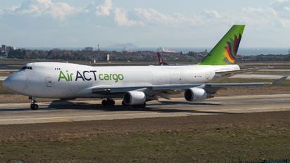 TC-ACR - ACT Cargo Boeing 747-400F, ERF