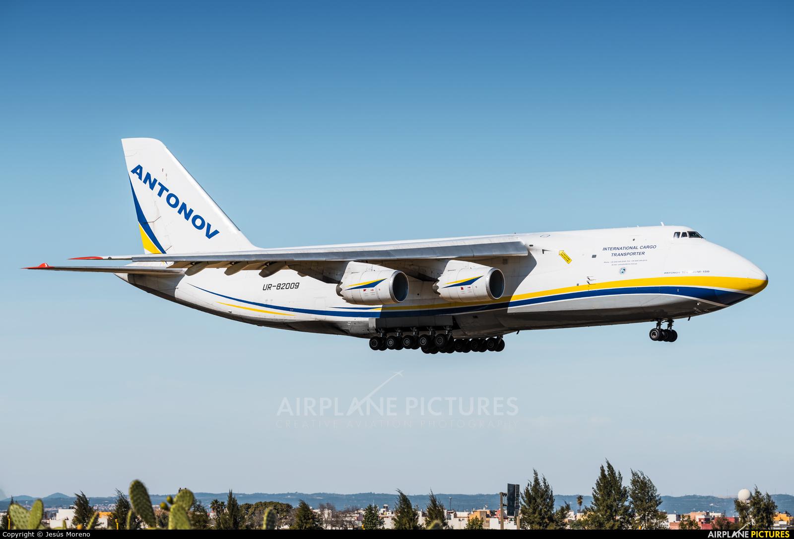 Antonov Airlines /  Design Bureau UR-82009 aircraft at Seville - San Pablo