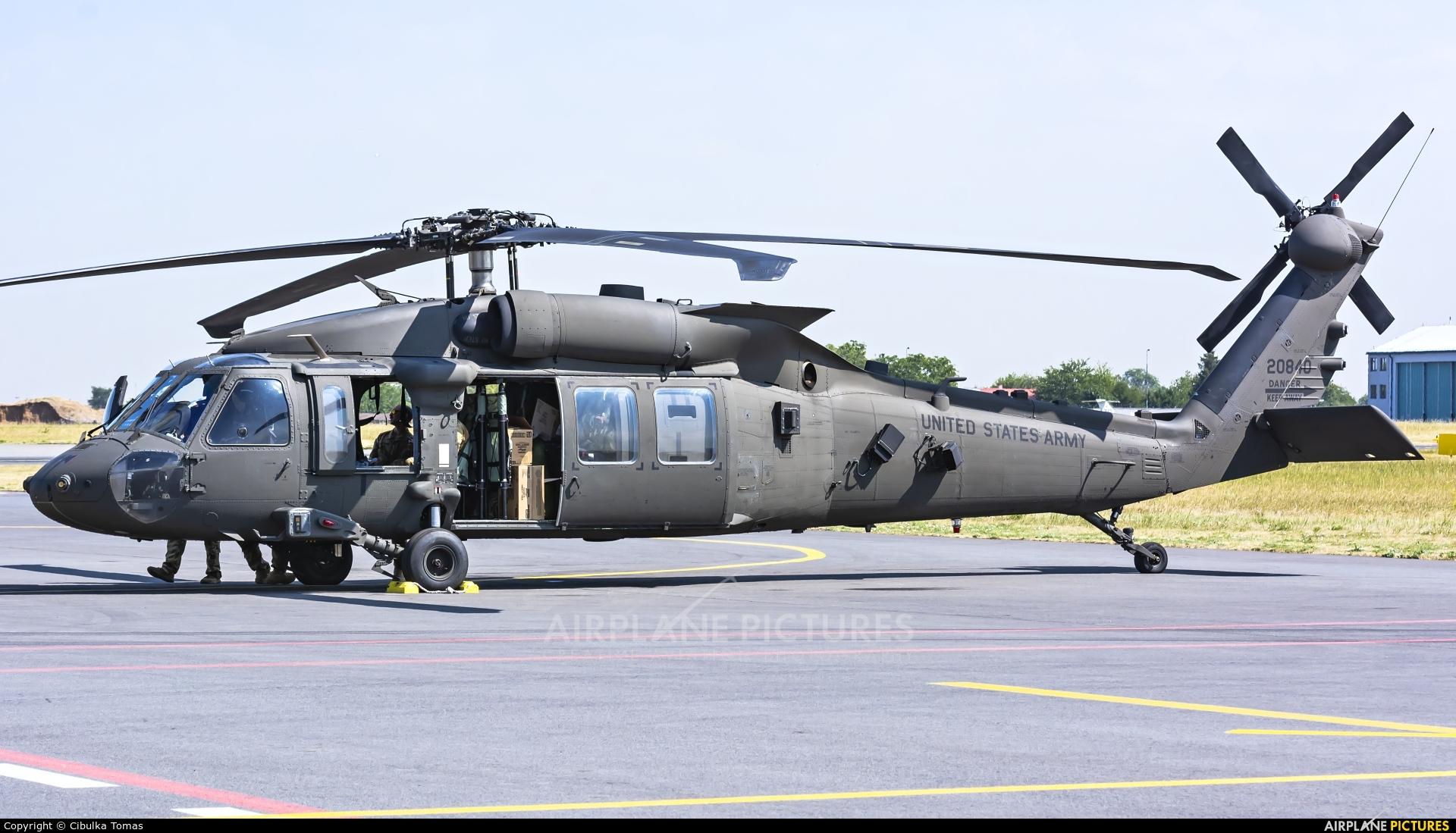 USA - Army 16-20840 aircraft at Prague - Václav Havel