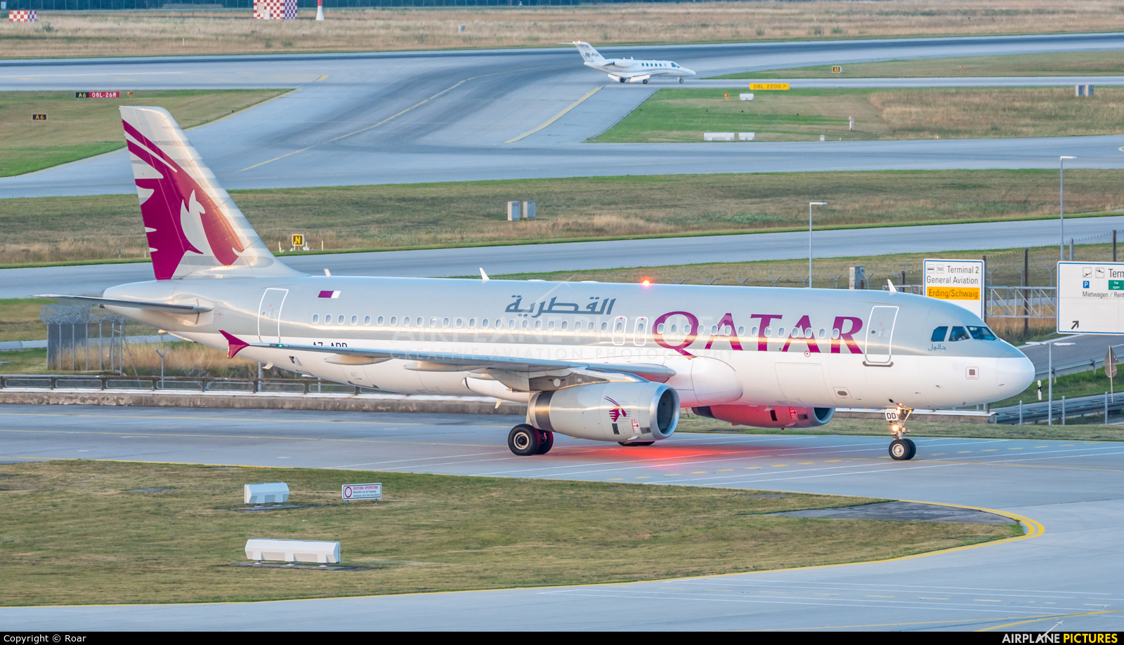 Qatar Airways A7-ADD aircraft at Munich