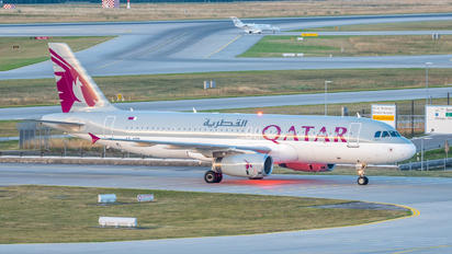 A7-ADD - Qatar Airways Airbus A320
