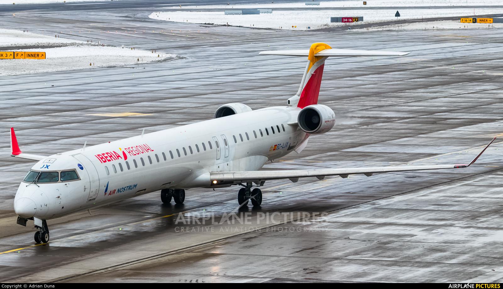 Air Nostrum - Iberia Regional EC-LJX aircraft at Zurich