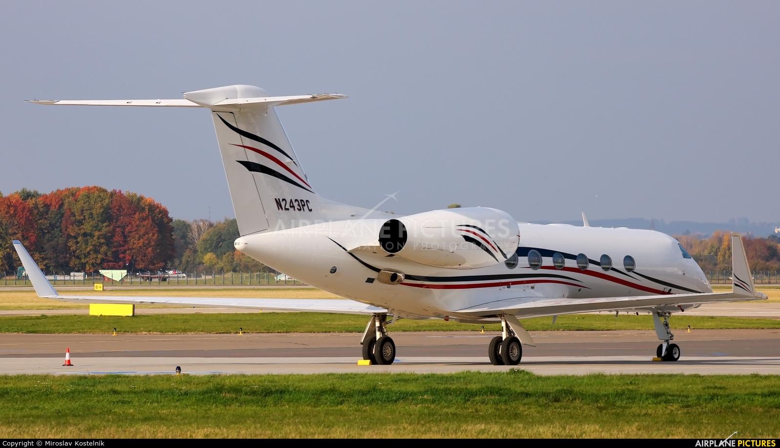 Private N243PC aircraft at Ostrava Mošnov