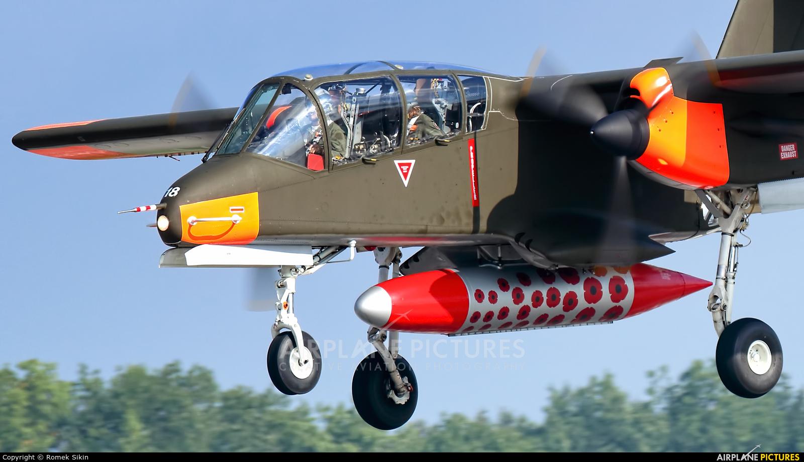 Private 99+18 aircraft at Ostrava Mošnov