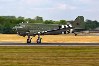 "ZA947 - Royal Air Force ""Battle of Britain Memorial Flight"" Douglas C-47A Dakota C.3"