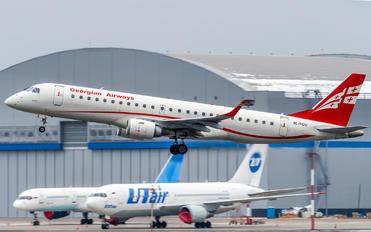 4L-TGU - Airzena - Georgian Airlines Embraer ERJ-190 (190-100)
