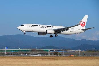JA334J - JAL - Japan Airlines Boeing 737-300
