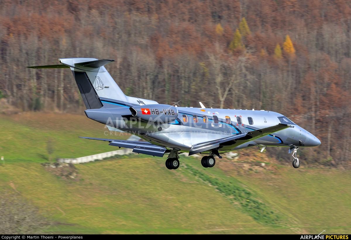 Pilatus HB-VXB aircraft at Buochs