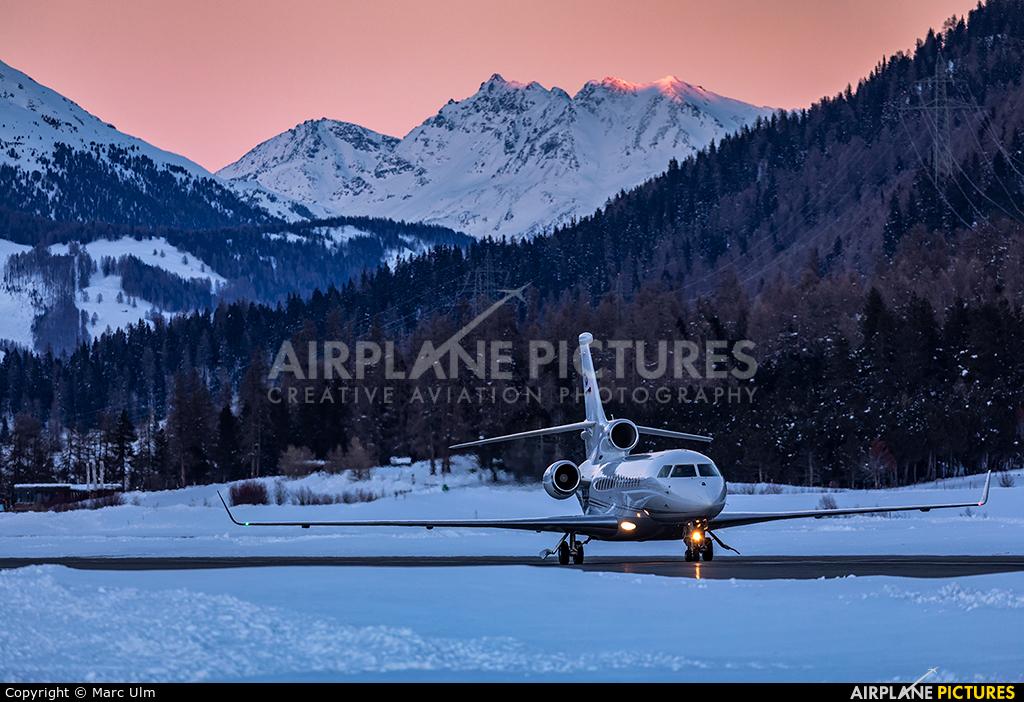 Private HB-JSS aircraft at Samedan - Engadin