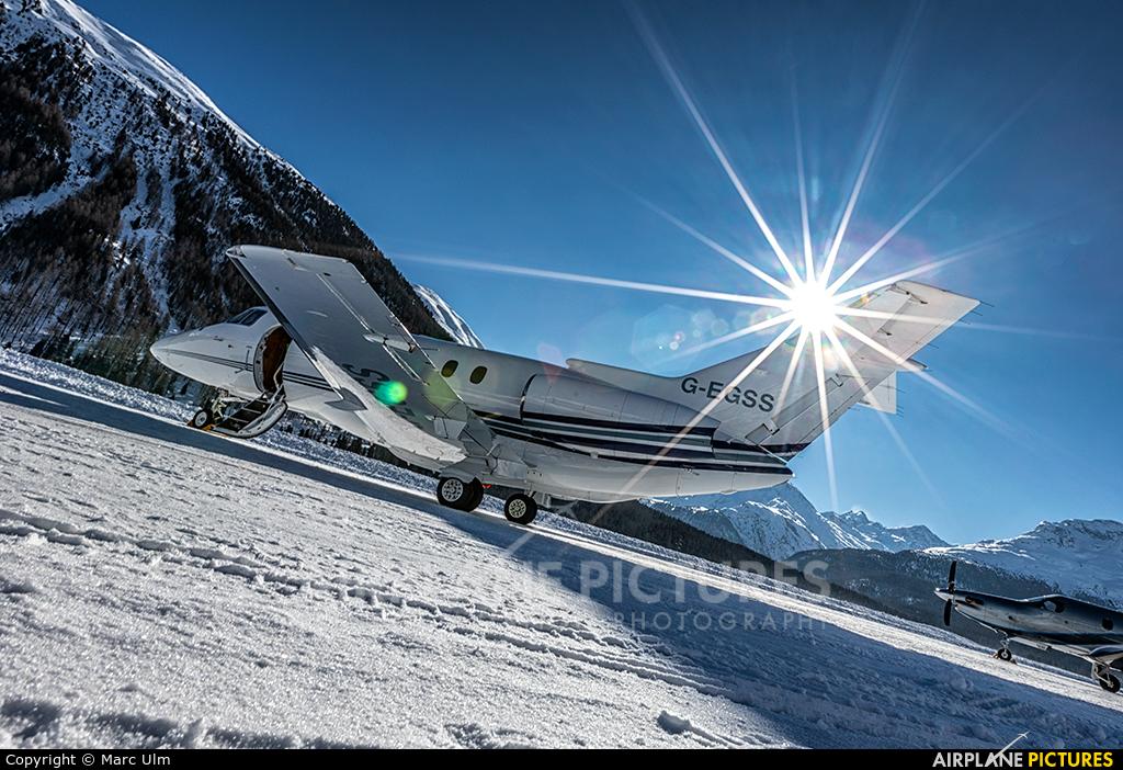 Private G-EGSS aircraft at Samedan - Engadin