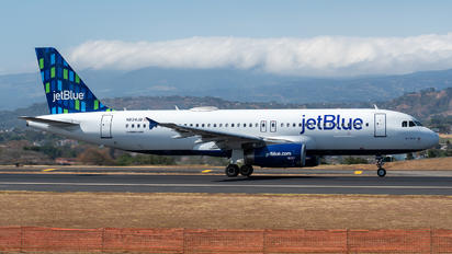 N634JB - JetBlue Airways Airbus A320