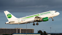 D-ASTB - Germania Airbus A319 aircraft