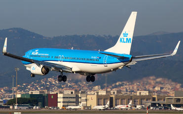 PH-BXC - KLM Boeing 737-8K2