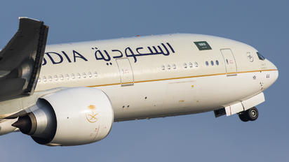 HZ-AK44 - Saudi Arabian Airlines Boeing 777-300ER