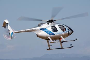 ZK-INZ - Amalgamated Helicopters NZ Hughes 369E
