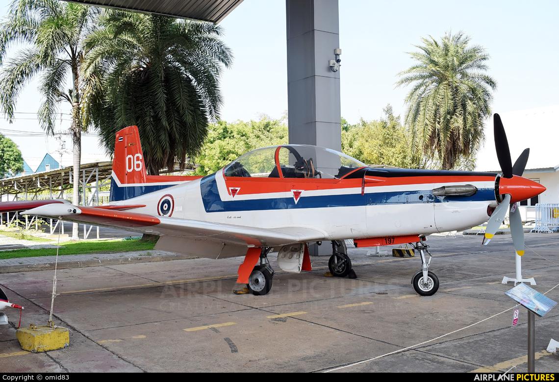 Thailand - Air Force 197 aircraft at Bangkok - Don Muang