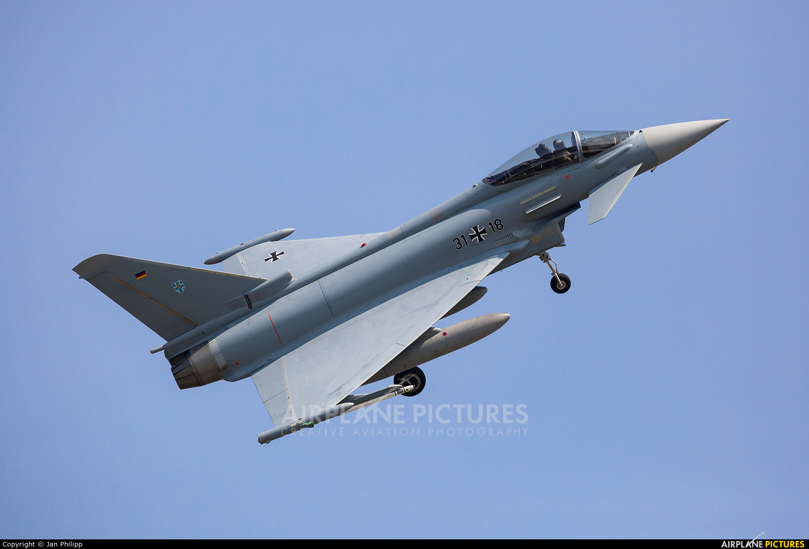 Germany - Air Force 31+18 aircraft at Rostock - Laage