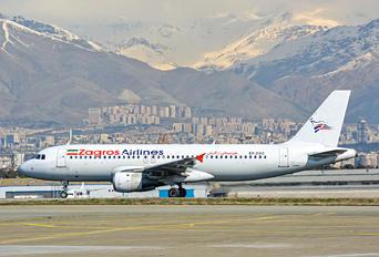EP-ZGC - Zagros Air Airbus A320