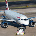 G-EUPK - British Airways Airbus A319 aircraft