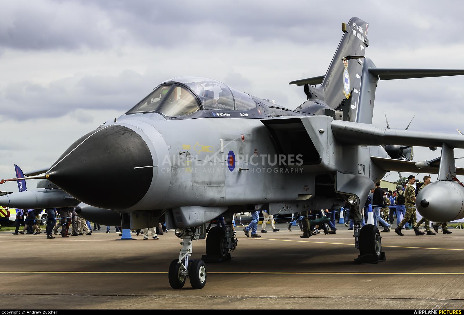Royal Air Force ZG771 aircraft at Fairford