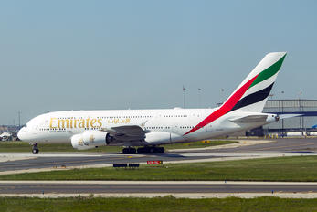 A6-EUF - Emirates Airlines Airbus A380