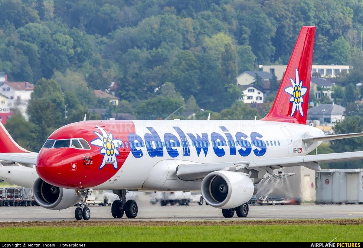 Edelweiss HB-IHZ aircraft at Zurich