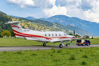 HB-FXP - Switzerland - Air Force Pilatus PC-12